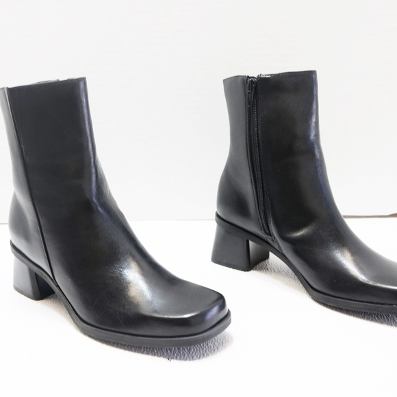 Ankle Square Toe Boots